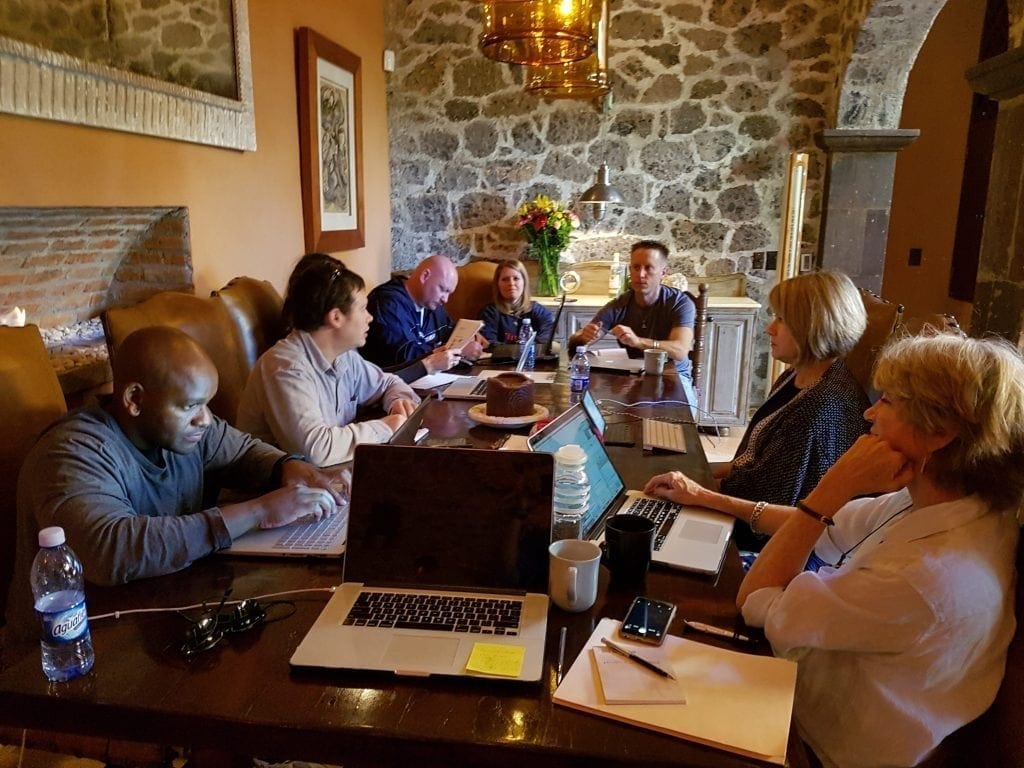 Corporate Meeting at Casa Tres Cervezas